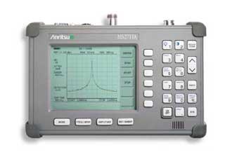 Настройка подавителя на анализаторе спектра Anritsu MS2711A